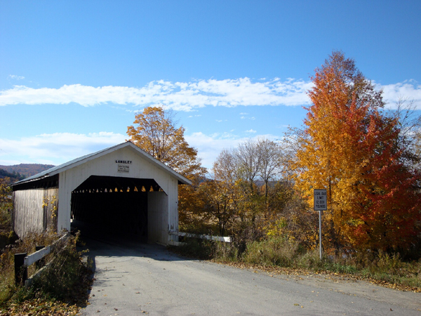 Longley Covered Bridge