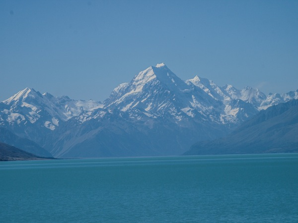 Mt. Cook am Lake Pukaki